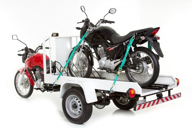 Triciclo transporte 2 motos