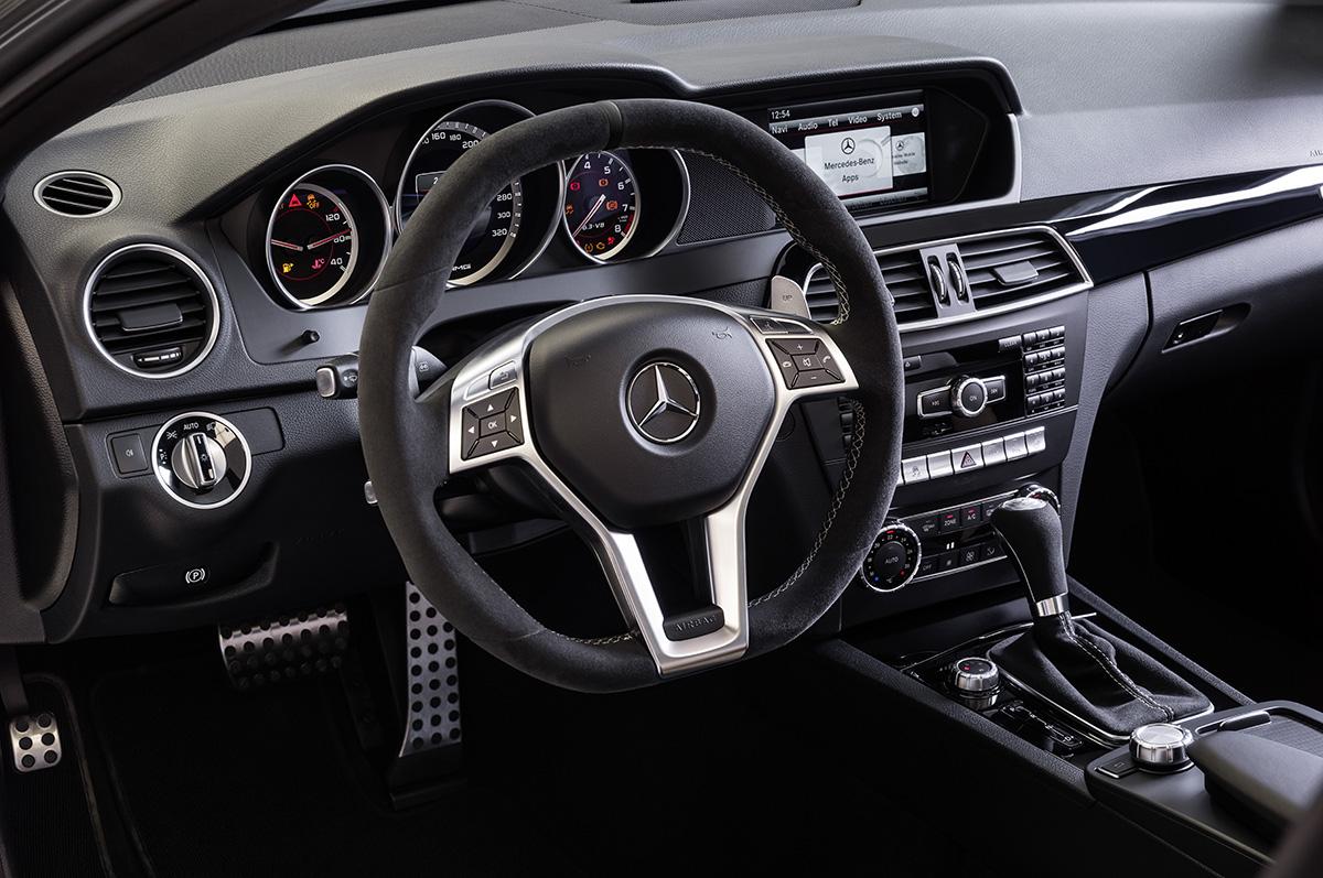 2014 MERCEDES-BENZ C63 AMG EDITION 507 INTERIOR