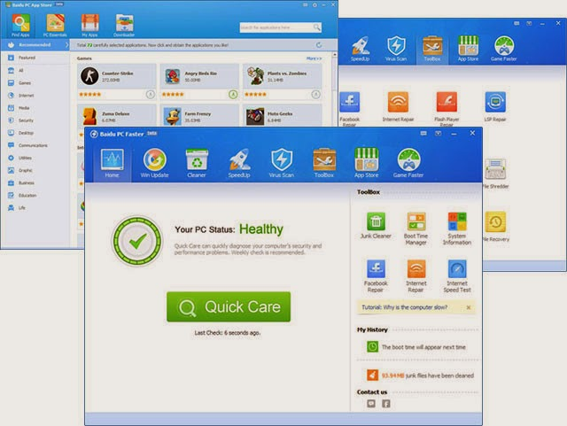 Shop one-stop application for PC Trustworthy
