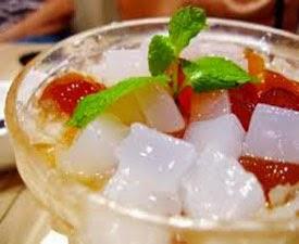 Resep praktis dan mudah membuat minuman segar es jeli spesial enak, lezat