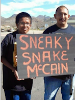 Apaches Defending Oak Flat 'Sneaky Snake McCain'