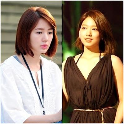 Yoon Eun Hye dan Park Shin Hye