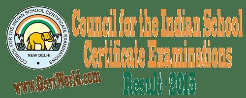 ICSE Results 2015