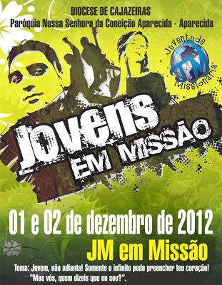 Juventude Missionária da Paraíba é representado no Jovens em Missão