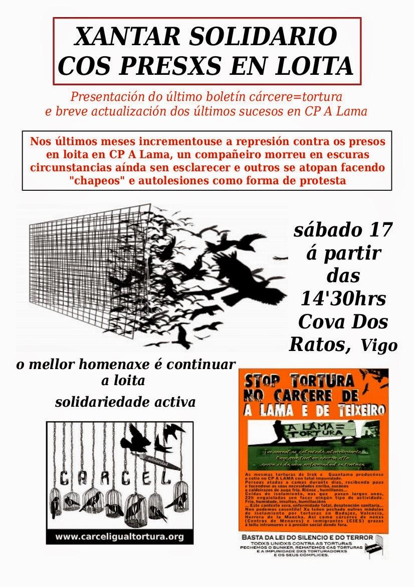 Xantar Solidario. Vigo 17-05