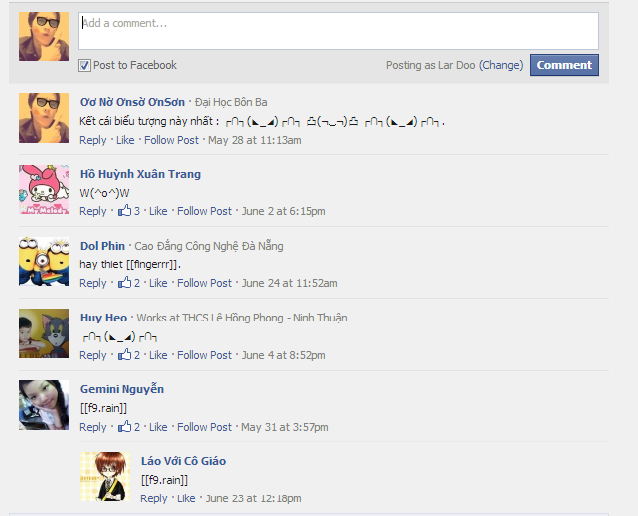 Cách thêm commnet facebook cho Blogspot