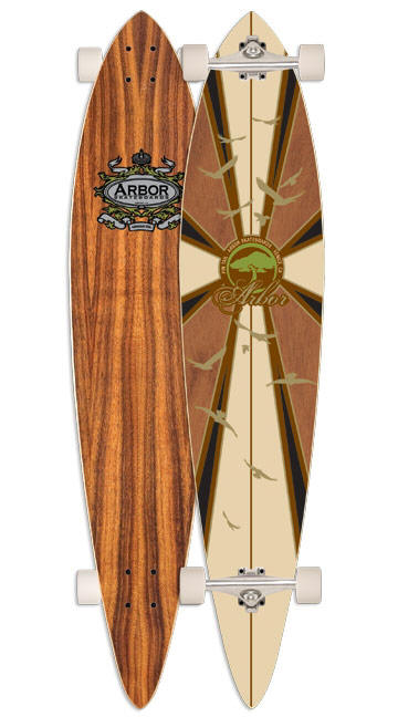 Arbor longboard pintail arbor tool galleries for Arbor fish longboard
