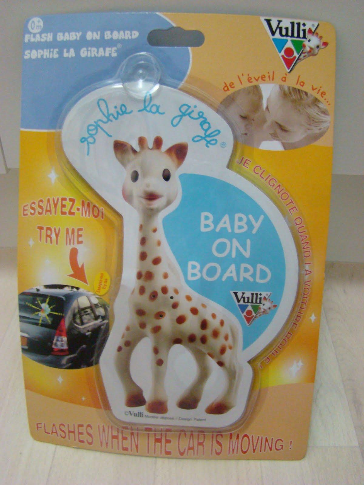 unique cute stuff for home  sophie the giraffe