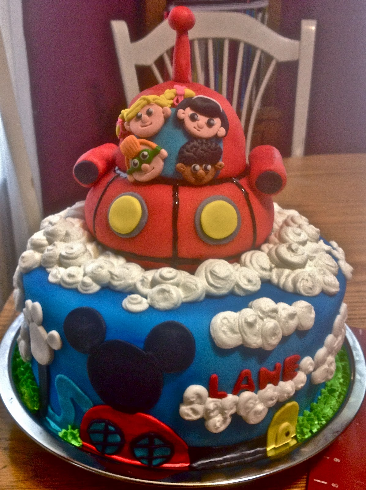 Debbies Little Cakes Little Einstein Mickey Mouse Clubhouse