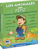 Los animales con Pipo para Infantil y Primaria, Escuelas