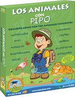 Los animales con Pipo para Infantil y Primaria, Escuelas