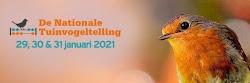 Tuinvogeltelling 2021