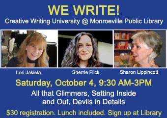 WE WRITE! on October 4