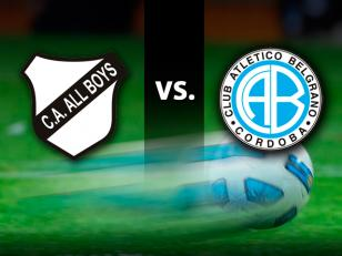 VER ALL BOYS VS BELGRANO DE CÓRDOBA EN VIVO Y DIRECTO