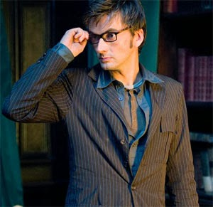 David Tennant being all sexy as The Doctor and stuff.