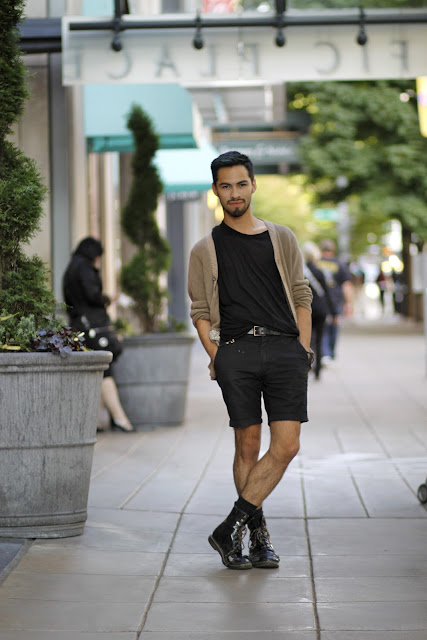 Justin Mounkes Doc Martens Pacific Place Seattle Street Style Fashion It's My Darlin'
