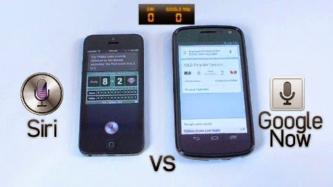 Siri vs Google Now