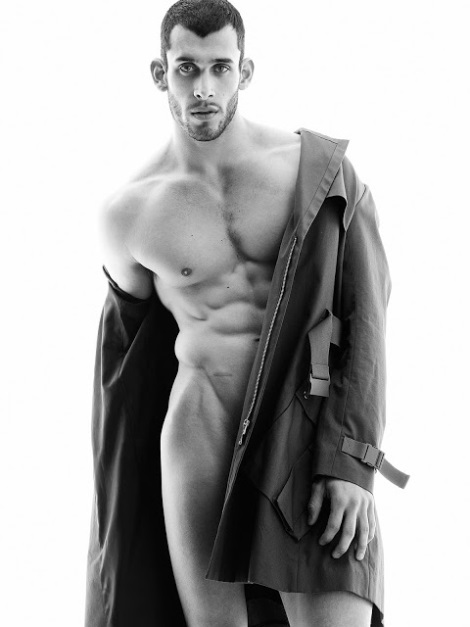 Rob Walker naked by Paul Reitz