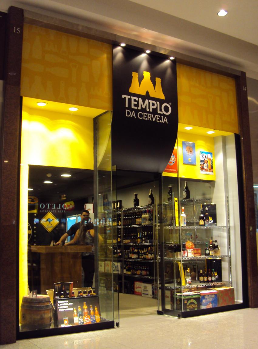 TEMPLO DA CERVEJA NO SHOPPING MUELLER 2906c9e843f01