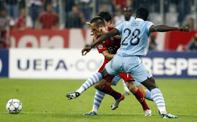 Bayern Munich 2 - 0 Manchester City (2)