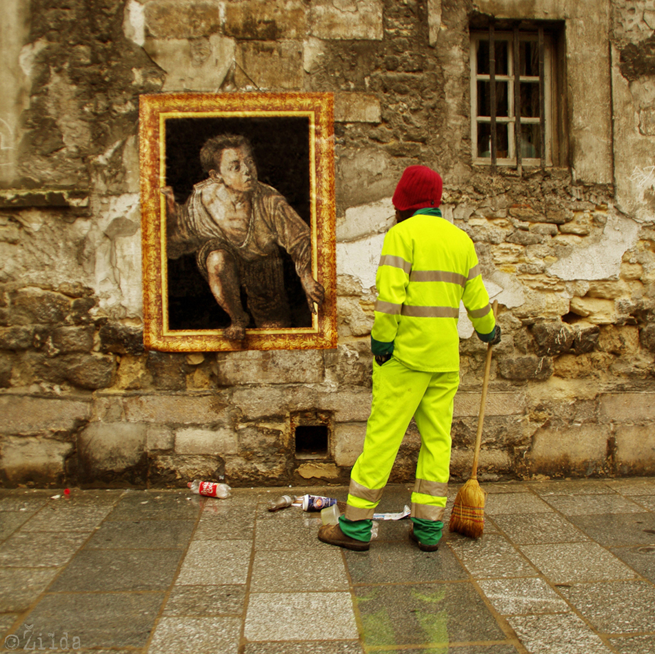 Zilda, street art, Fragiles Fabulae, Paris