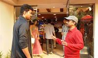 Kajal Agarwal, Vijay Thuppaki Shooting Spot Gallery