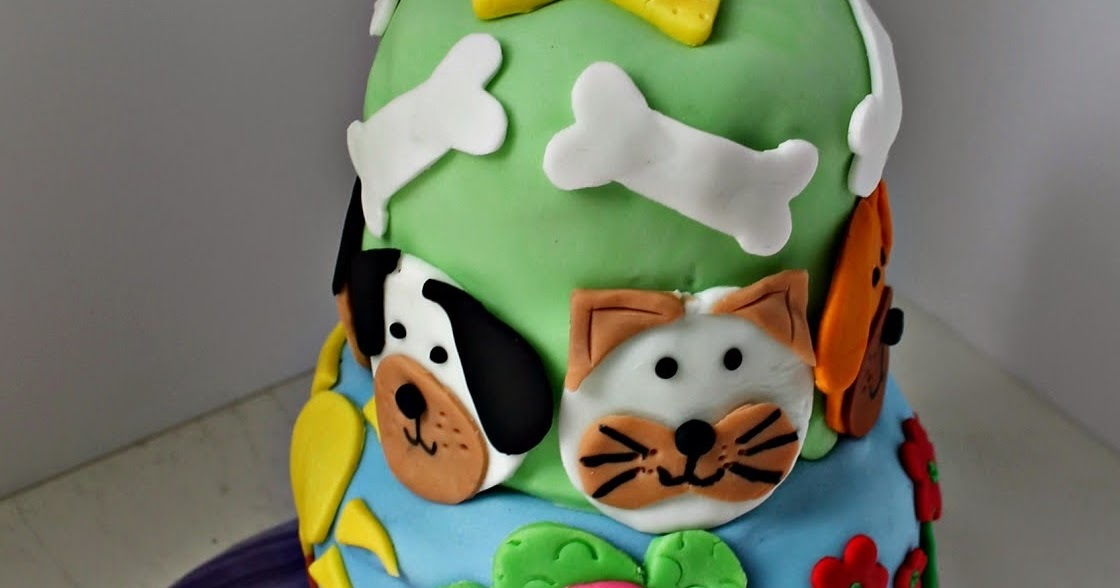 E-D Does It: Cats & Dogs Birthday Cake