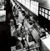 futószalagos gyártás