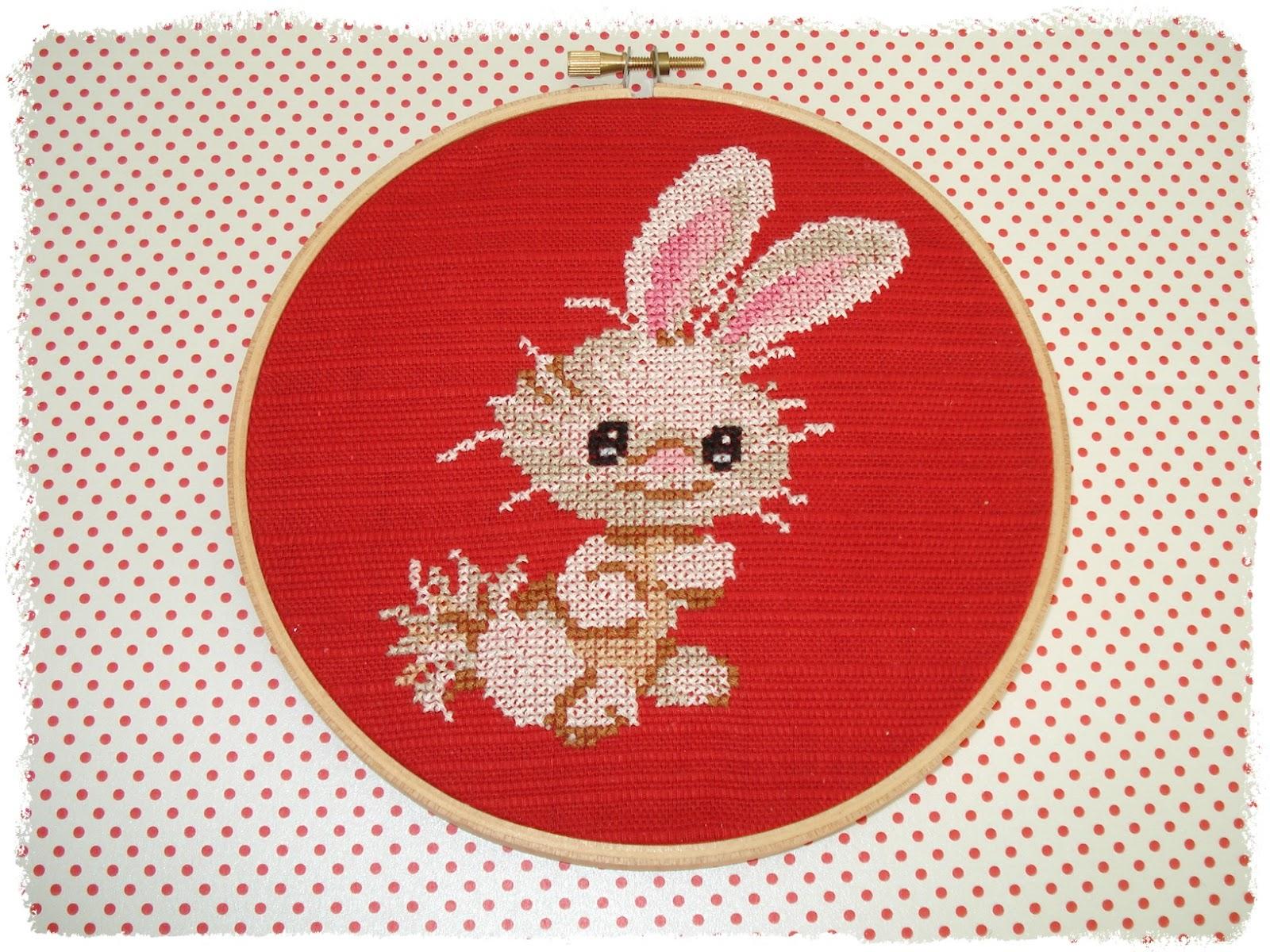 Cupcake cutie benny the bunny embroidery hoop art tutorial