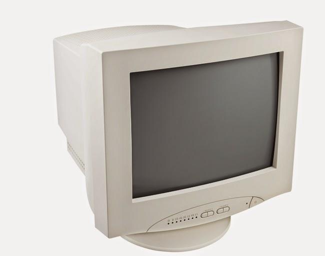 monitor alb-negru