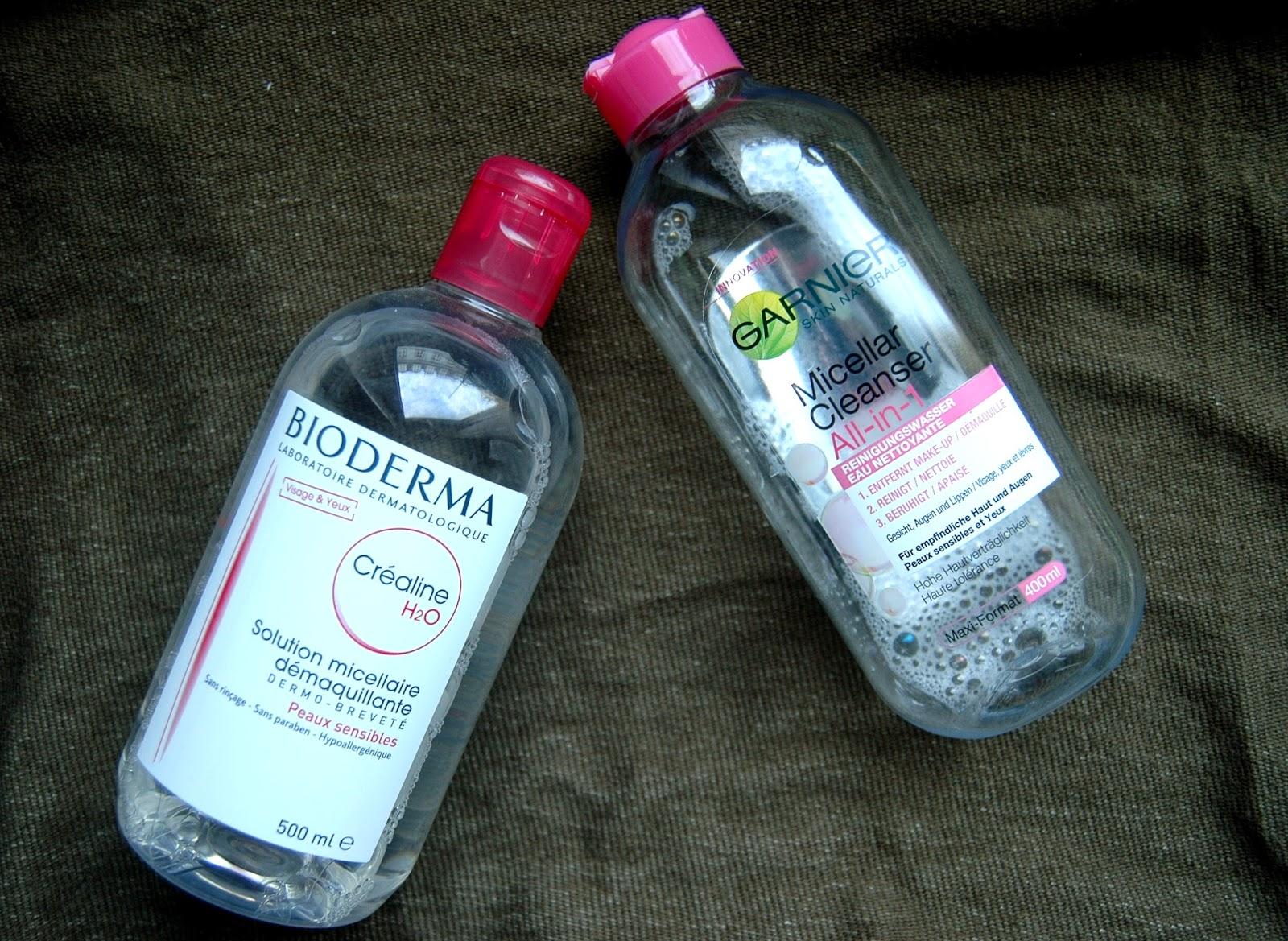 Bioderma Dupe - Garnier Mizellenwasser