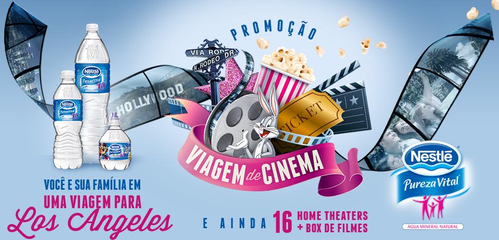"""Promoção """"VIAGEM DE CINEMA - Nestlé Viagem de Cinema"""