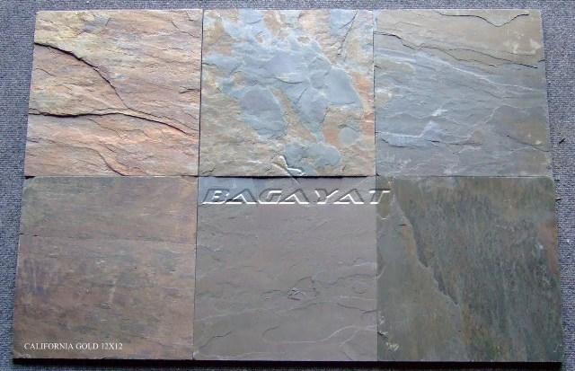 California Gold Slate : Indian slate stones california gold stone