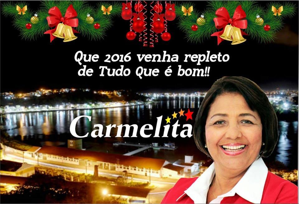 Saudações da Prof. Carmelita