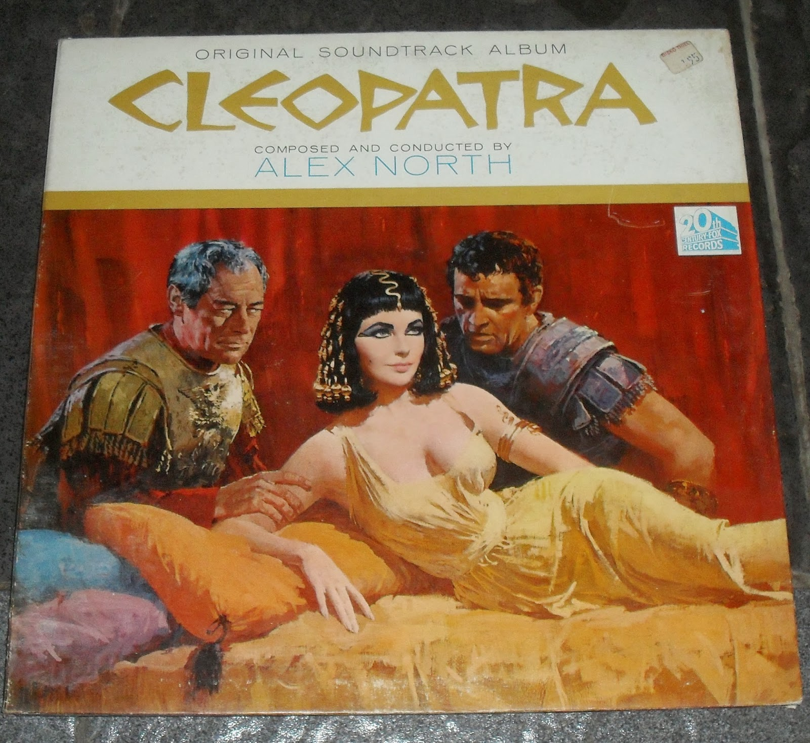Alex North Cleopatra Colonna Sonora Originale Del Film