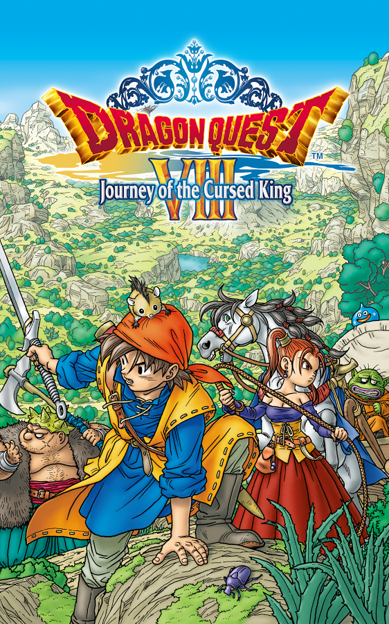 DRAGON QUEST 8 VIII APK+DATA ( NO ROOT + ENGLISH)