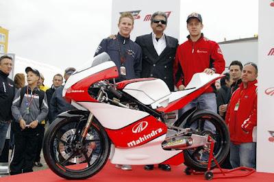 mahindra 2012 Moto3 bike