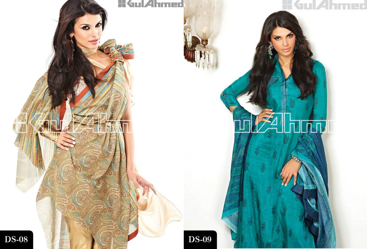Gul Ahmed Signature Lawn Series Magazine 2013 - celebrity news update