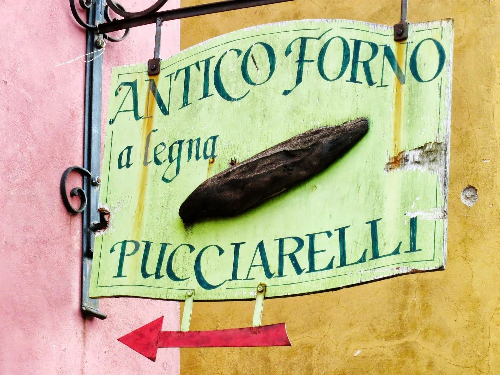 Castelpoggio Tuscany bakery
