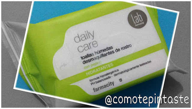toallitas, desmaquillantes, farmacity, daily care