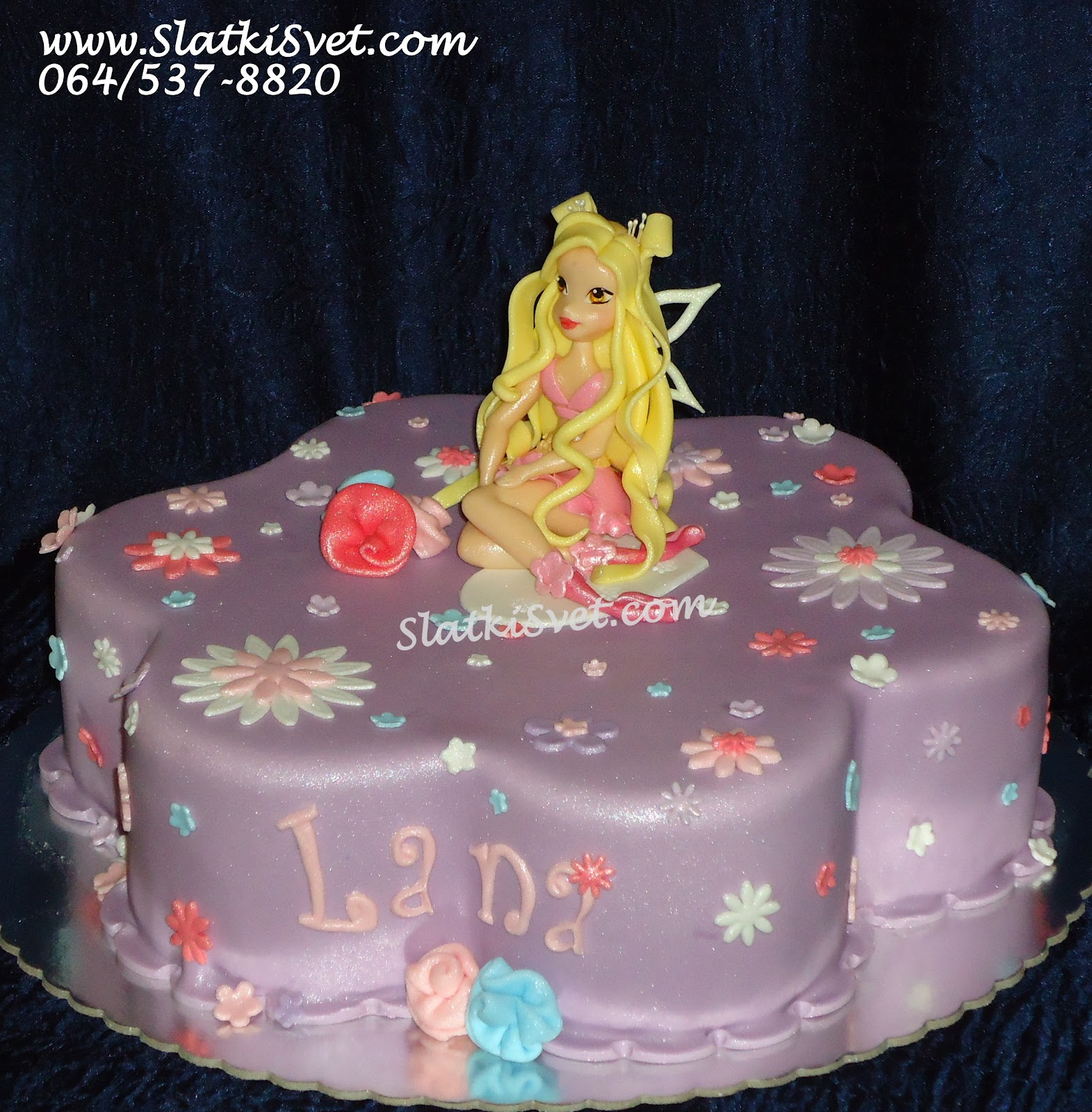Decije Rodjendanske Torte: Torta Vinx Vila - Torte za devojcice