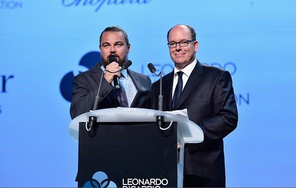 Prince Albert Attended Leonardo DiCaprio Foundation Saint-Tropez Gala