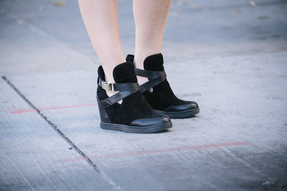 aldo sneaker booties | In good faith, Tess