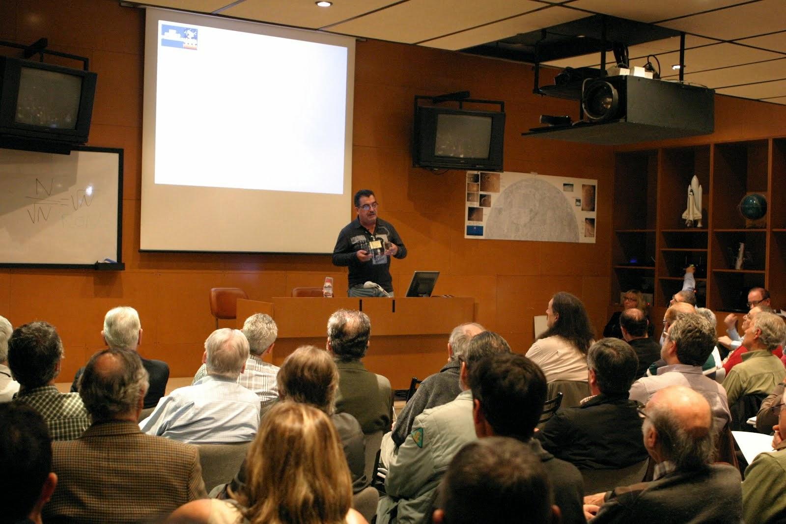 Ponència a la XIII Convenció d'observadors de la Agrupació Astronòmica de Sabadell
