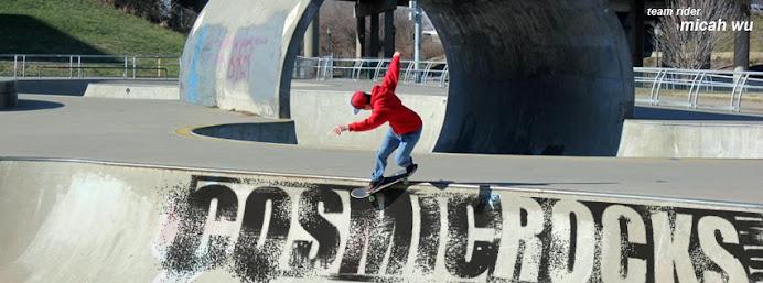 Skateboarder: Micah Wu