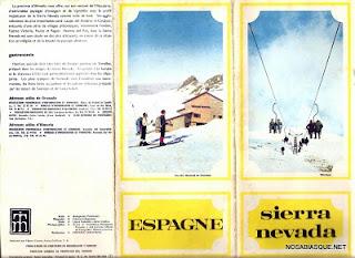 Candelario Salamanca en un folleto de Sierra Nevada