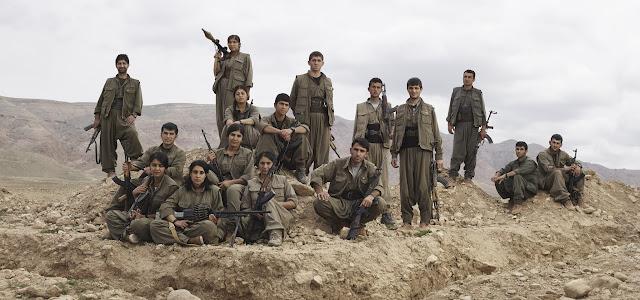 Guerrilheiros de Kurdistan