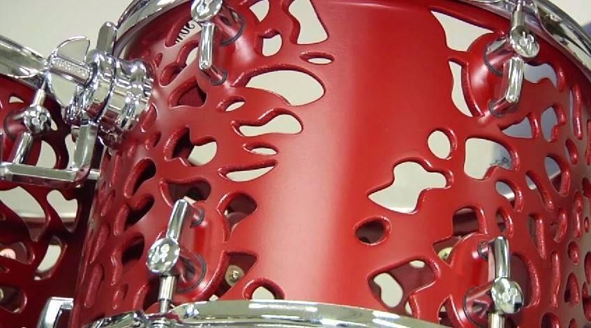 3D printed drum musical instrument