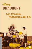 """Portada del libro """"Las doradas manzanas del sol"""", de Ray Bradbury"""