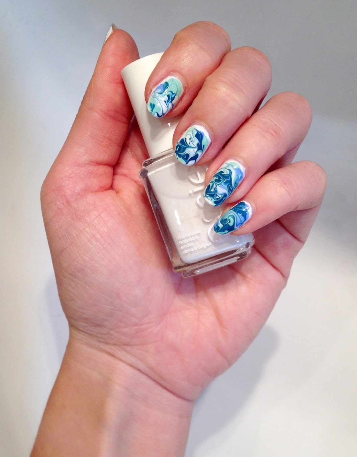 Water Marble Nails - Ohne Wasser! - Nails All Over